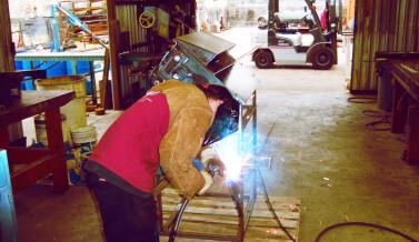 DRYWALL SHREADING MACHINE BUILT FOR RANGER CONST. CO